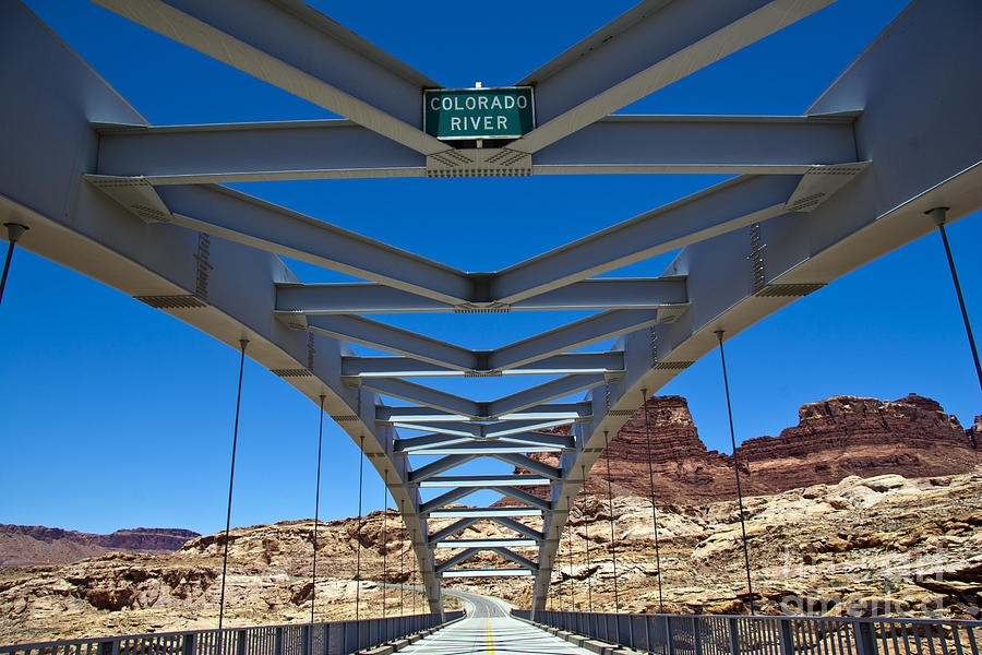 Bridge Across Colorado Photograph