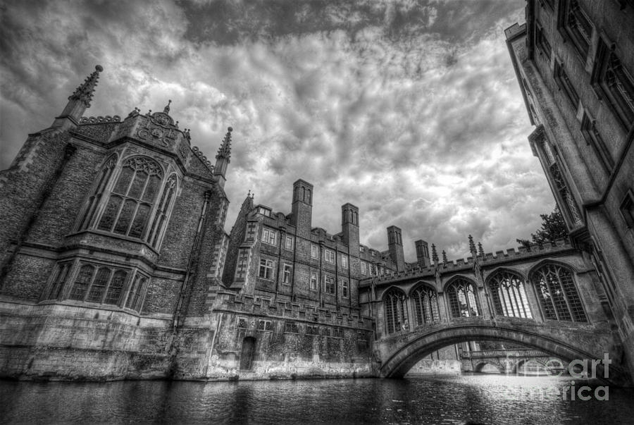 Bridge Of Sighs - Cambridge Photograph  - Bridge Of Sighs - Cambridge Fine Art Print