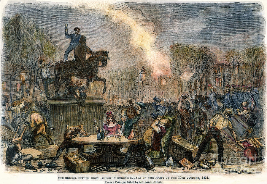 Bristol: Reform Riot, 1831 Photograph