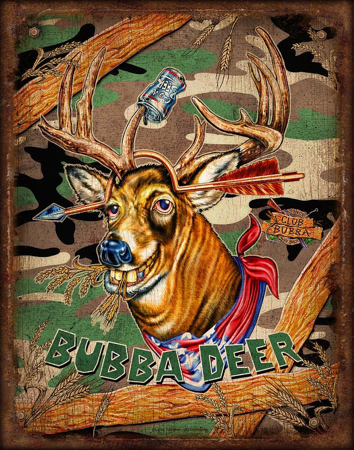 Bubba Deer Painting