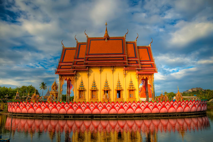 Buddha Temple  Photograph