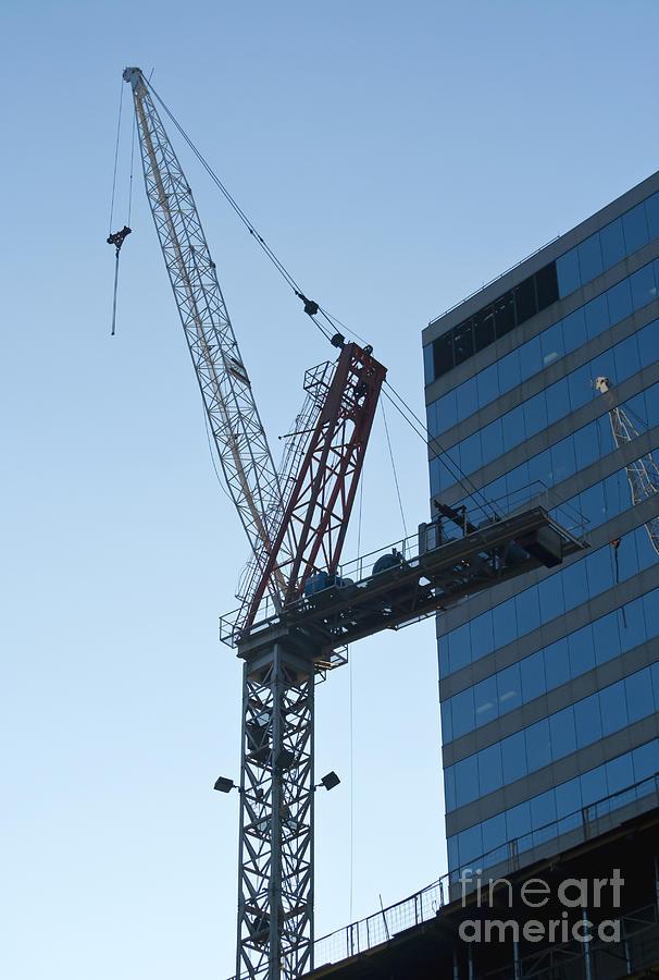 Building Crane Photograph