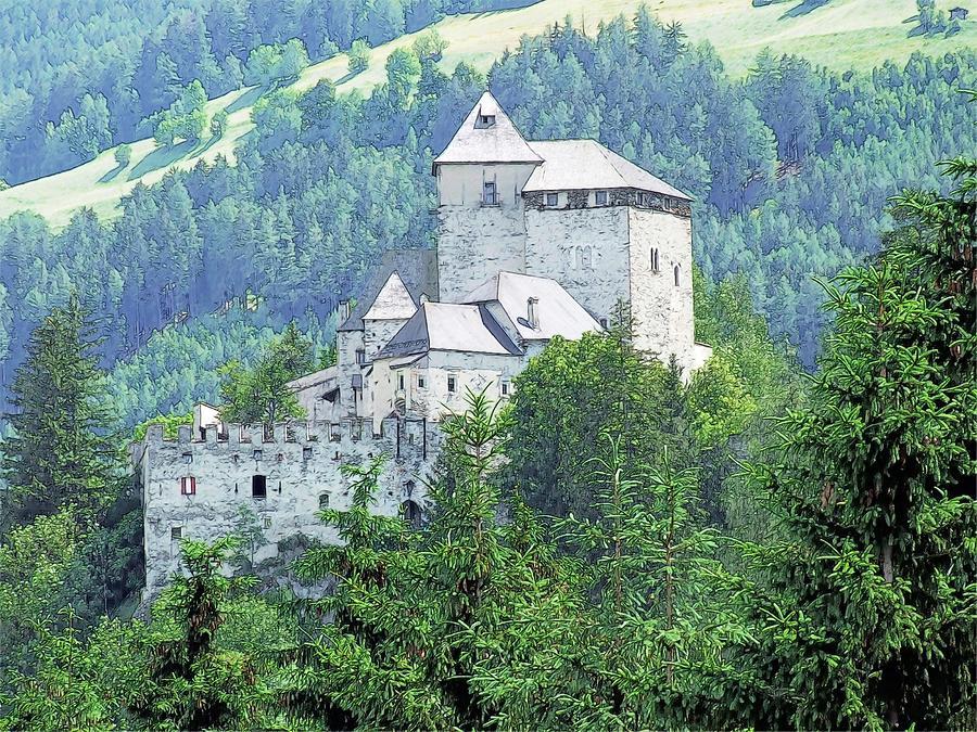 Burg Reifenstein Sterzing Italy Photograph