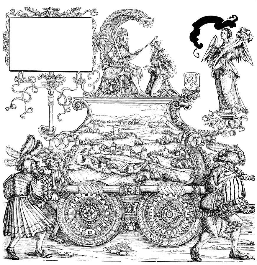 Burgkmair - Maximilian Drawing