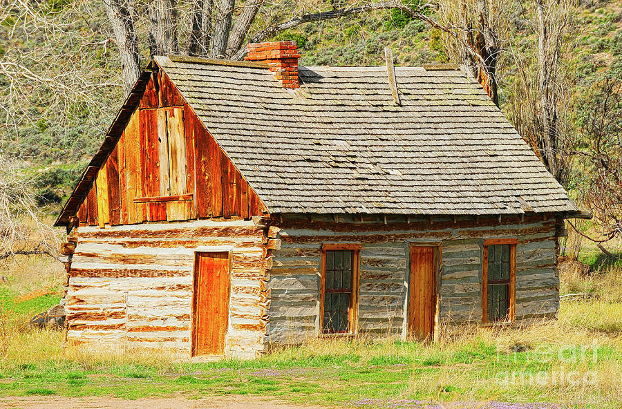 Butch Cassidys Family Homestead Photograph  - Butch Cassidys Family Homestead Fine Art Print