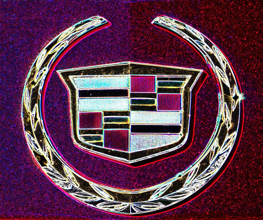 Cadillac Emblem Photograph - Cadillac Emblem by Dennis Dugan