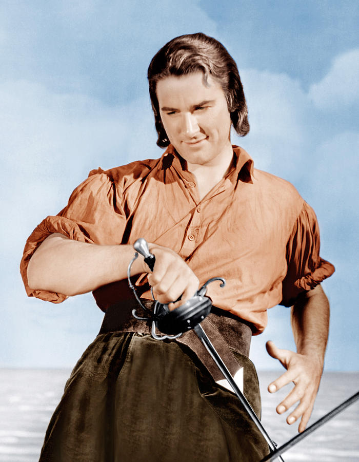 Captain Blood, Errol Flynn, 1935 Photograph