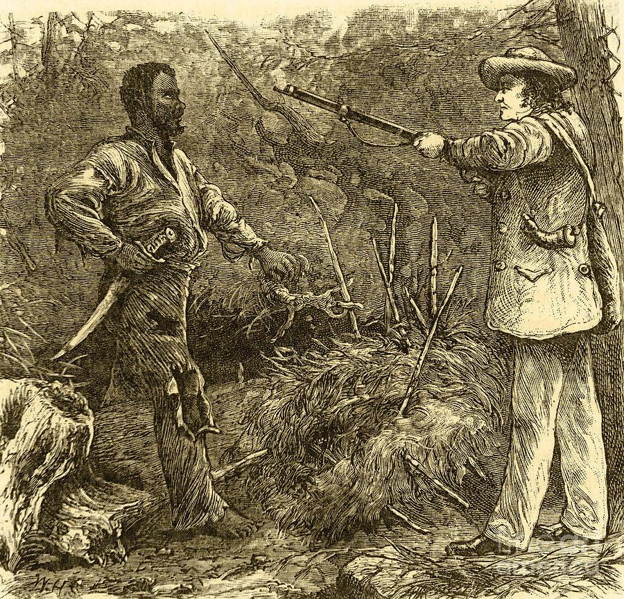 Capture Of Nat Turner, American Rebel Photograph