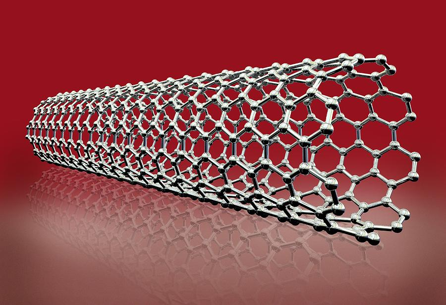 Carbon Nanotube, Artwork Photograph