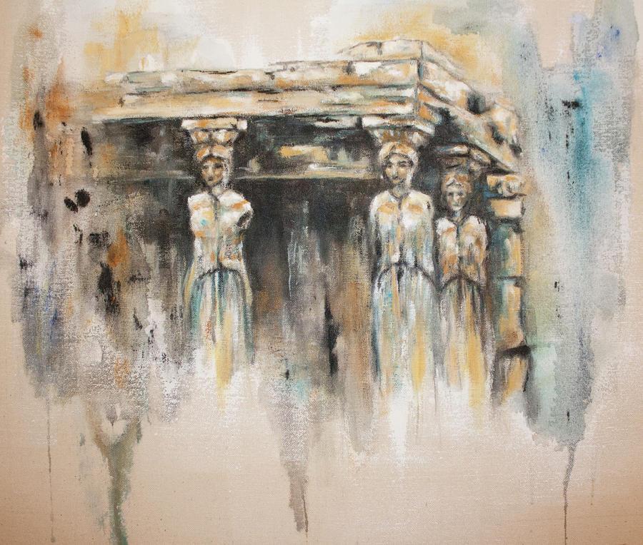 Caryatids Painting