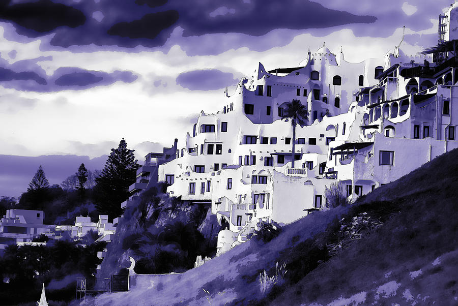 Casa Pueblo Digital Art