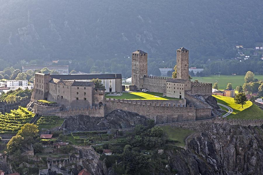 Bellinzona Photograph - Castel Grande - Bellinzona by Joana Kruse