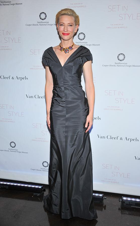 Cate Blanchett Wearing A Balenciaga Photograph