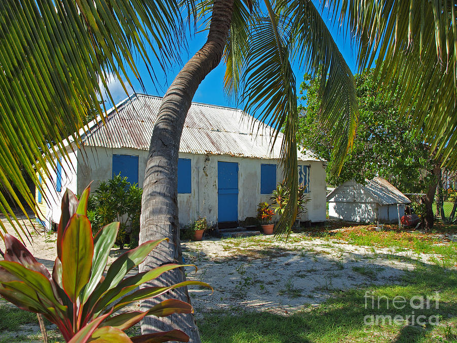 Cayman Islands Cottage Photograph  - Cayman Islands Cottage Fine Art Print