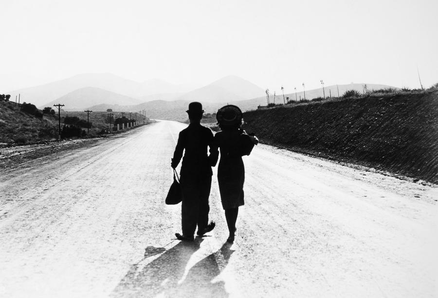 Chaplin: Modern Times, 1936 Photograph