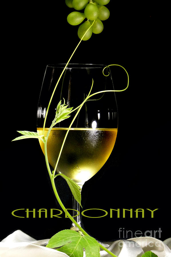 Chardonnay Photograph  - Chardonnay Fine Art Print