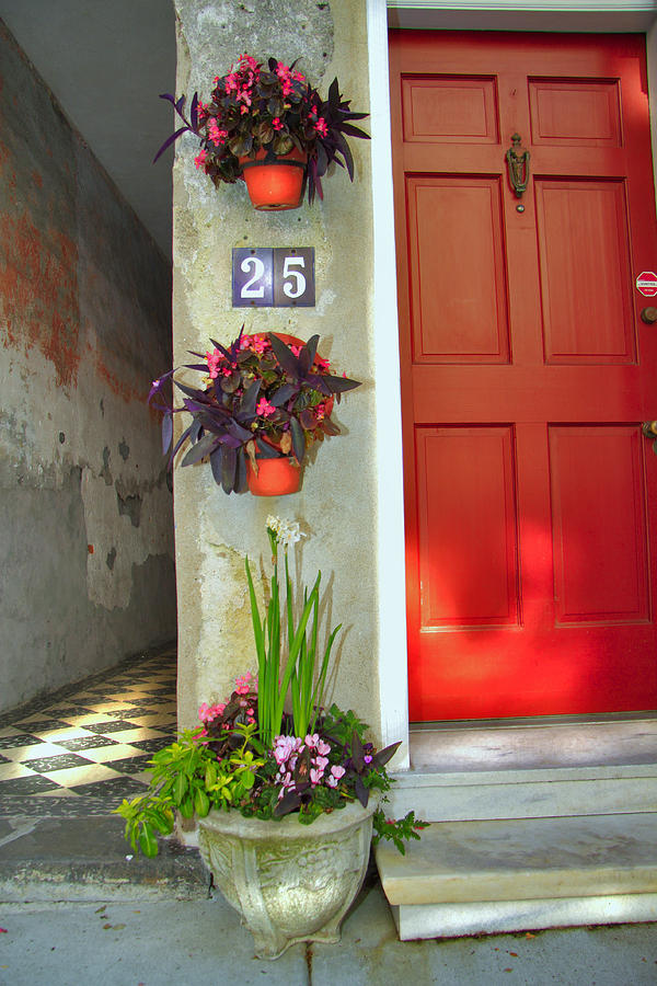 Home Photograph - Charleston Home Series by Wendy Mogul