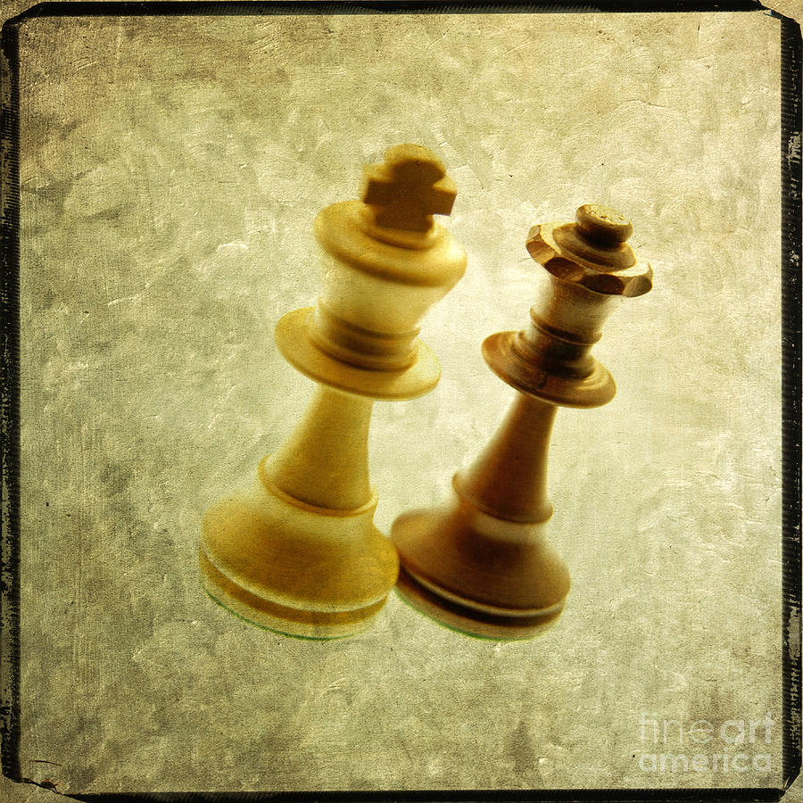 Chess Pieces Photograph  - Chess Pieces Fine Art Print