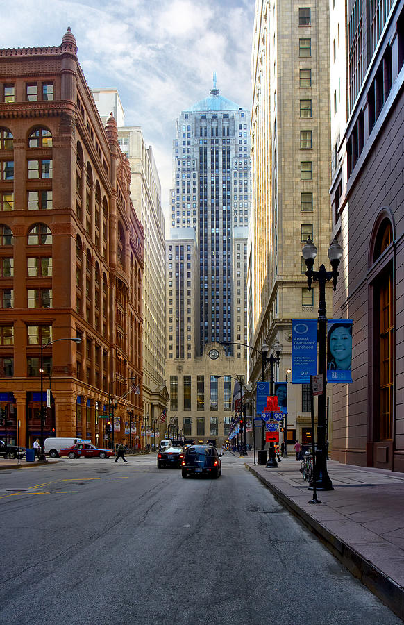 Chicago Board Of Trade Building Photograph  - Chicago Board Of Trade Building Fine Art Print
