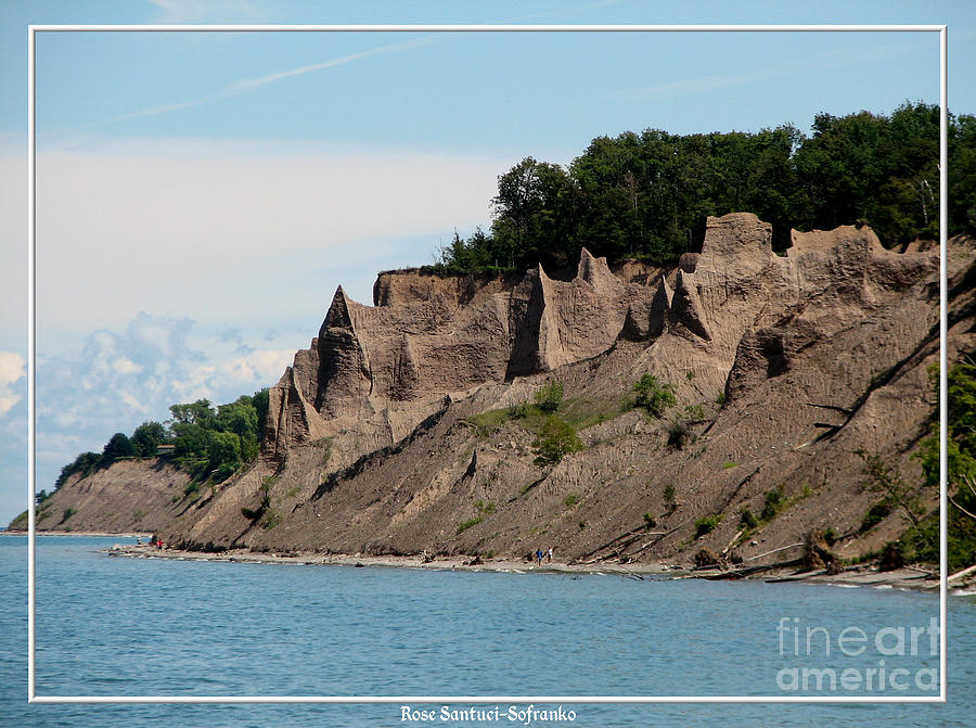 Chimney Bluffs On Lake Ontario Photograph  - Chimney Bluffs On Lake Ontario Fine Art Print