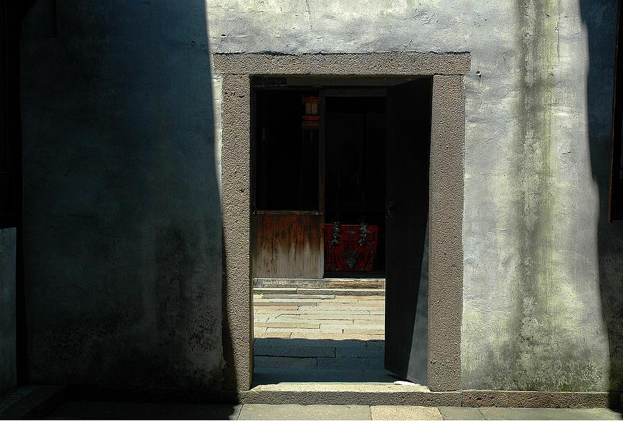 Chinese Doorway Photograph