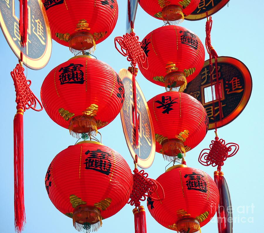 Chinese new year decorations photograph by yali shi for Chinese decorations