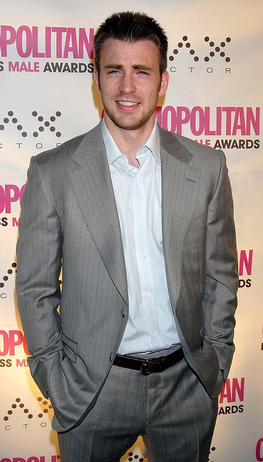 Chris Evans At Arrivals Photograph