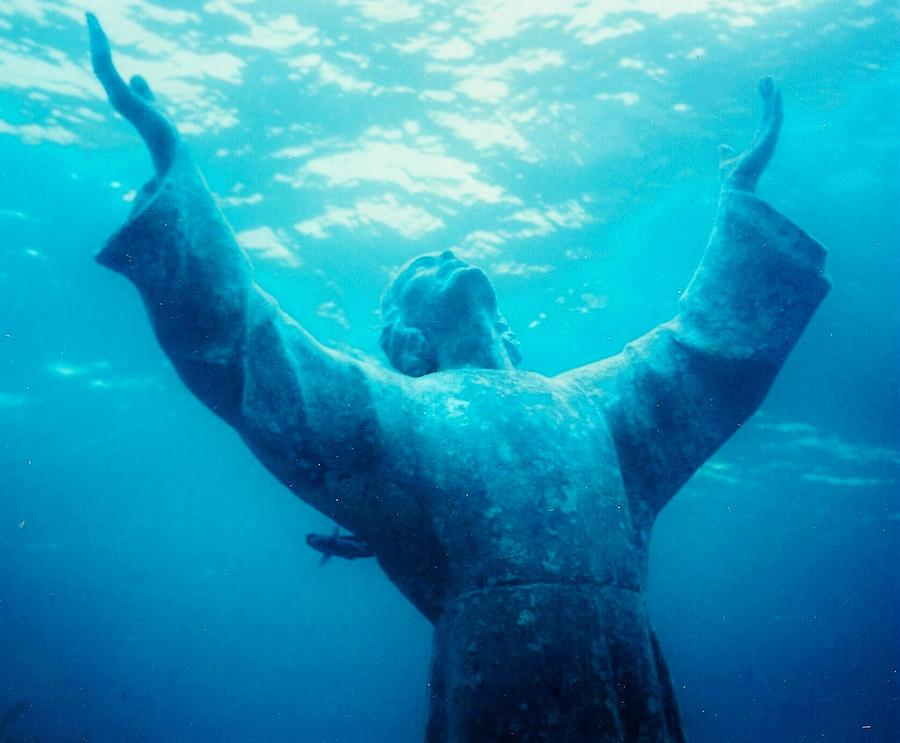 Christ At Sea Photograph