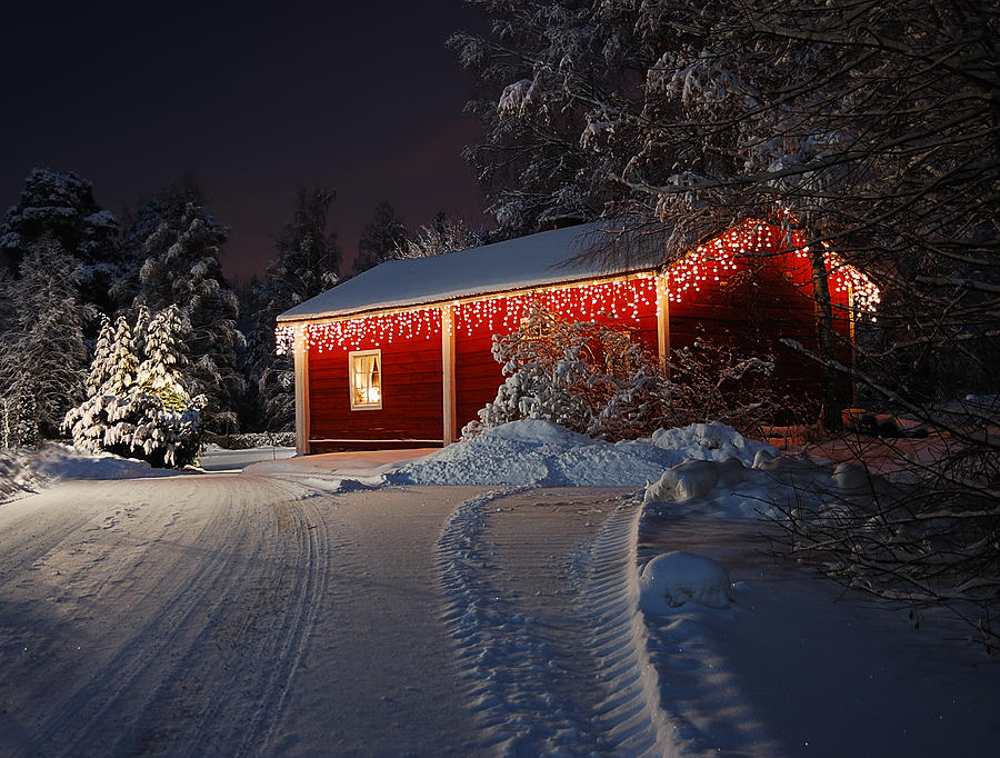 Christmas House  Photograph