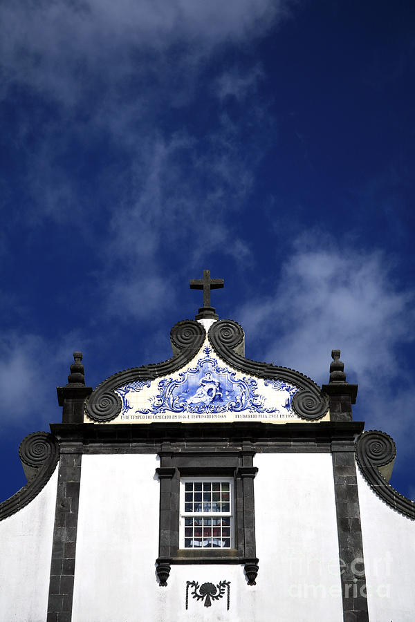 Church In Azores Islands Photograph  - Church In Azores Islands Fine Art Print