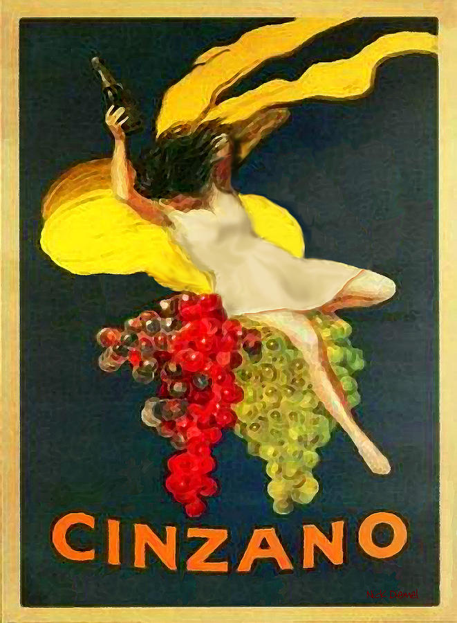 Cinzano Girl Photograph