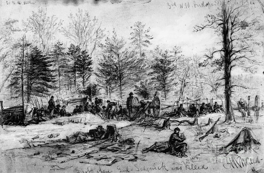 Civil War: Spotsylvania Photograph