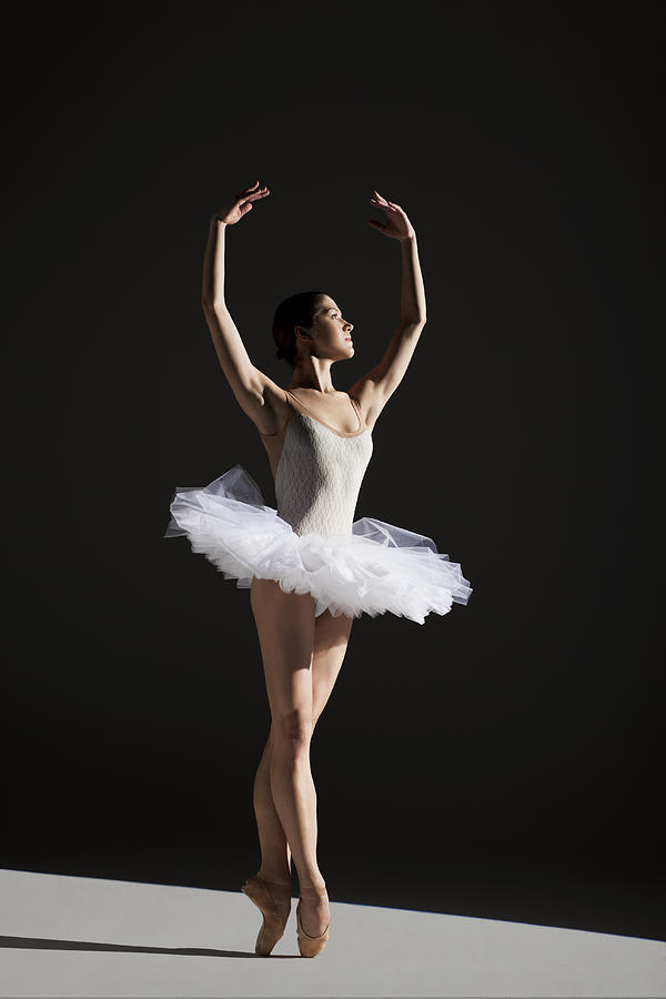 Classical Ballerina On Point Photograph