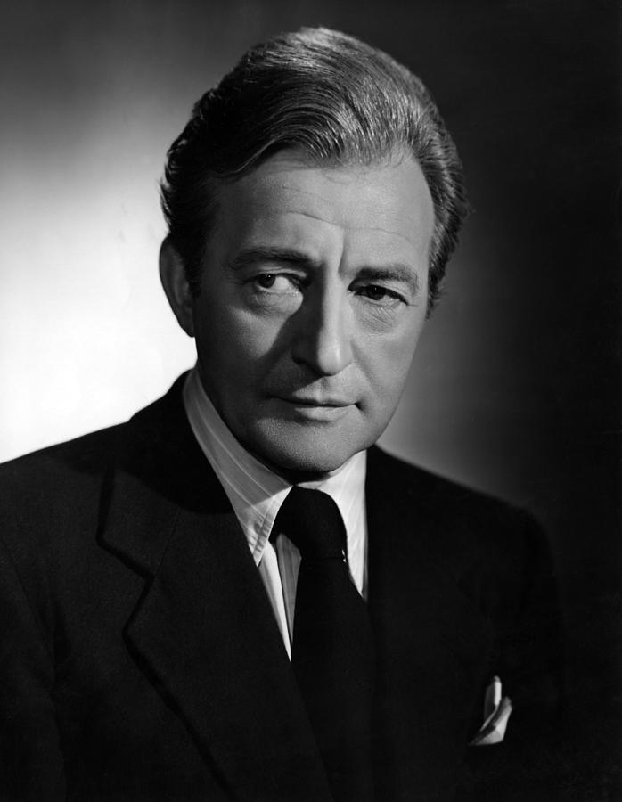 Claude Rains, 1949 Photograph  - Claude Rains, 1949 Fine Art Print