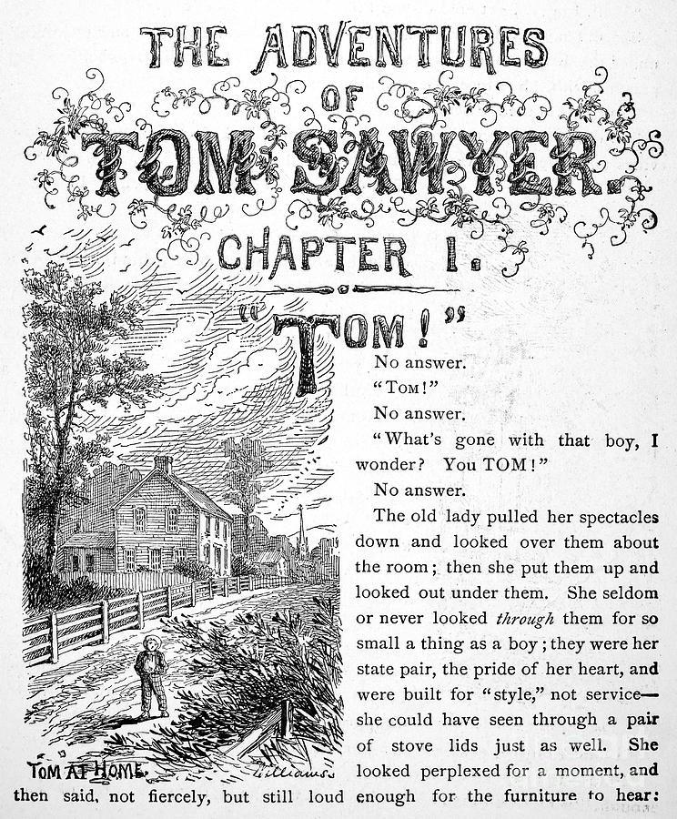 Clemens: Tom Sawyer Photograph