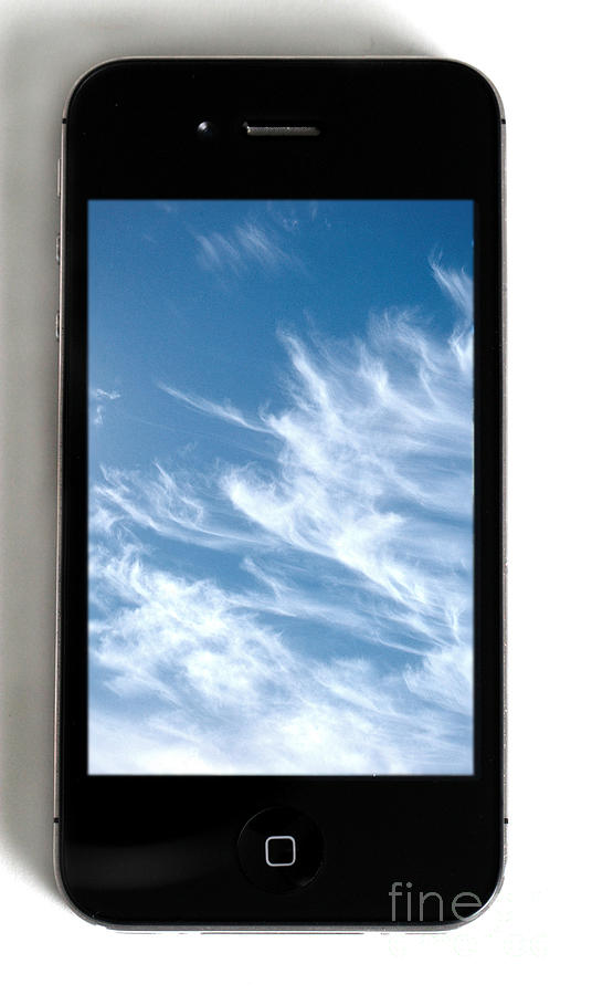 Cloud Computing Photograph  - Cloud Computing Fine Art Print