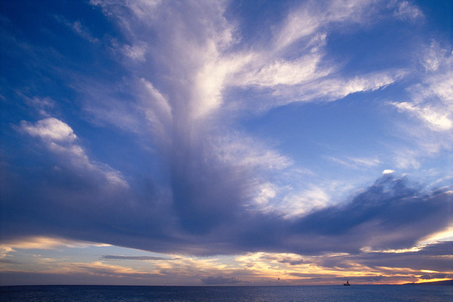 Cloud Formations Photograph