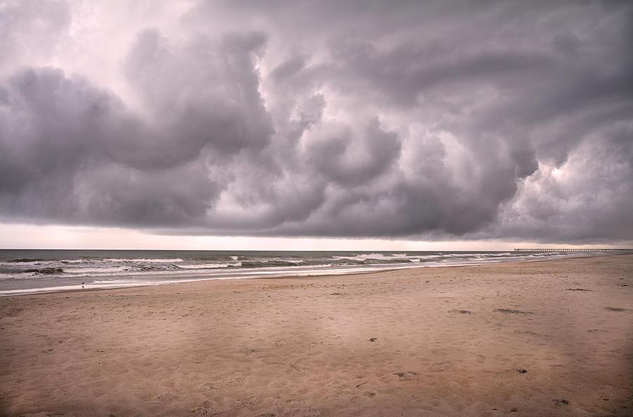 Topsail Photograph - Coastal Storm by Betsy Knapp