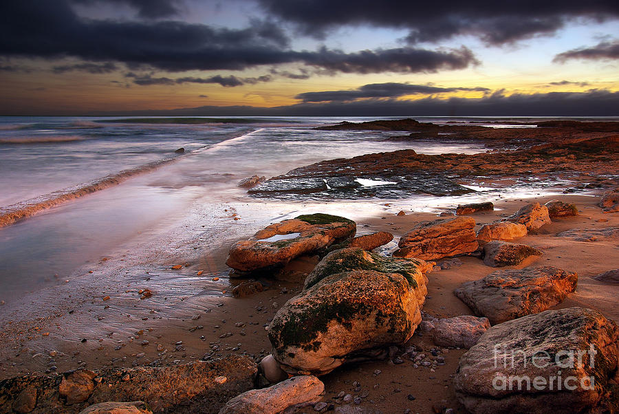 Coastline At Twilight Photograph  - Coastline At Twilight Fine Art Print