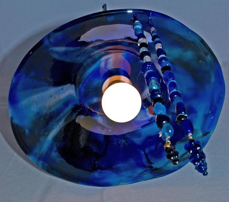 Cobalt Lamp   Sold Glass Art