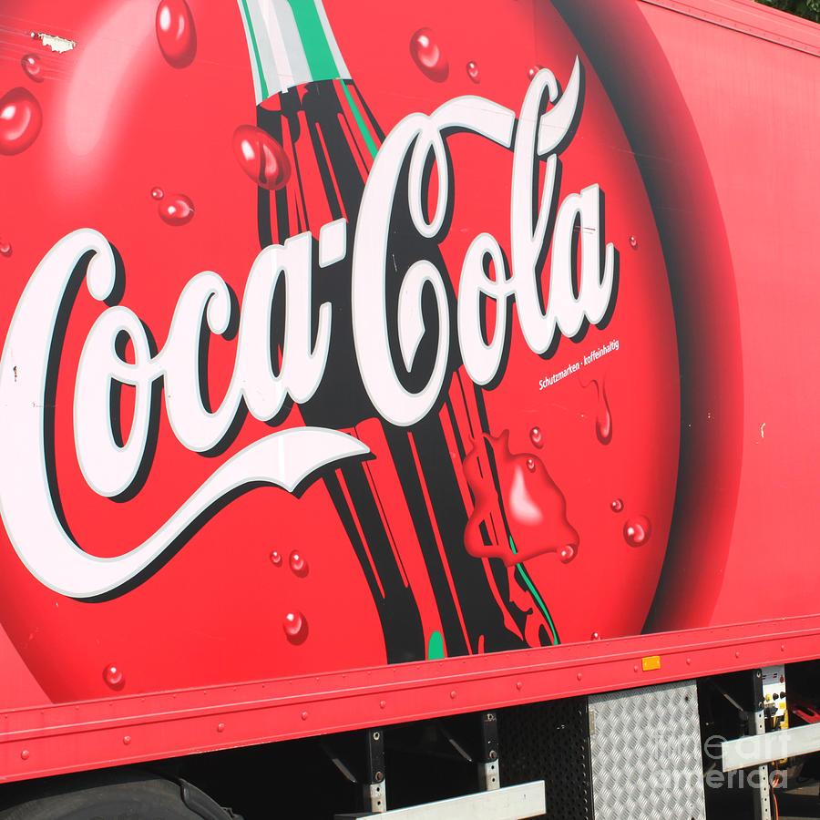 Coca Cola Truck Photograph