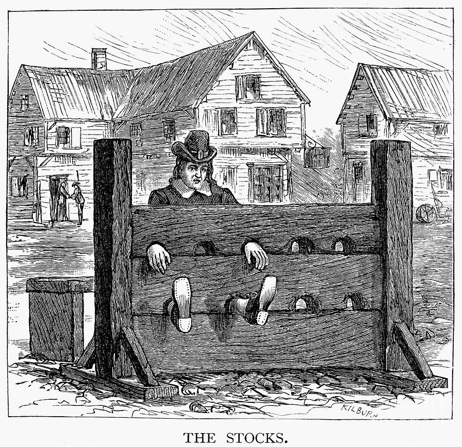 colonial stocks punishment