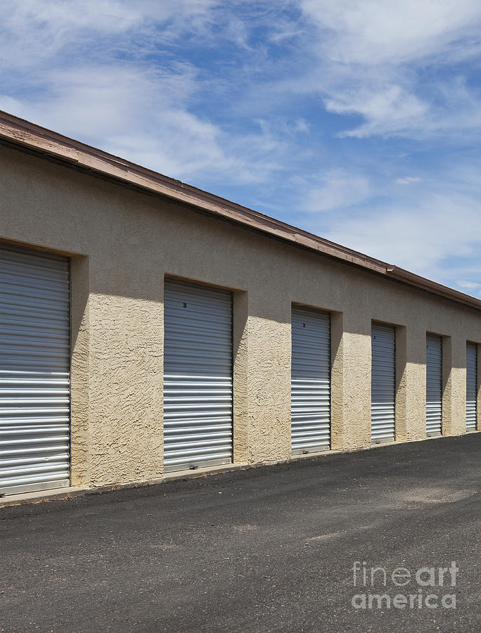 Commercial Storage Facility Photograph  - Commercial Storage Facility Fine Art Print