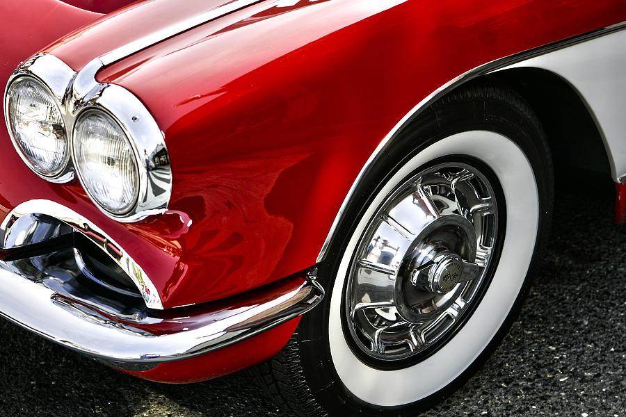 Automobile Photograph - Corvette Beauty by Bill Robinson