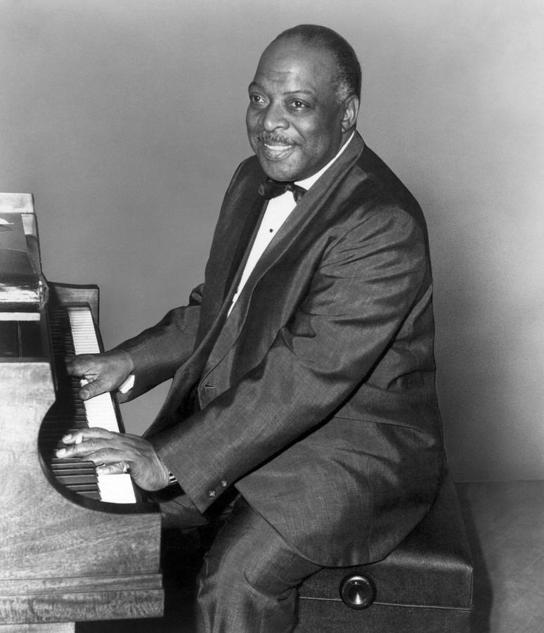 Count Basie (1904-1984) Photograph  - Count Basie (1904-1984) Fine Art Print