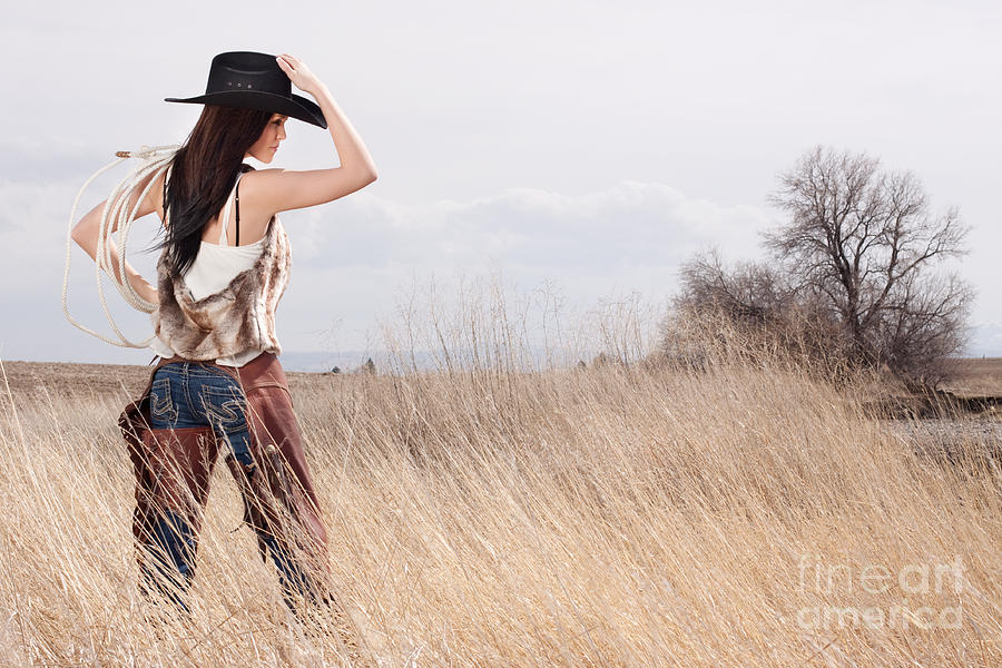Country Girl Photograph  - Country Girl Fine Art Print