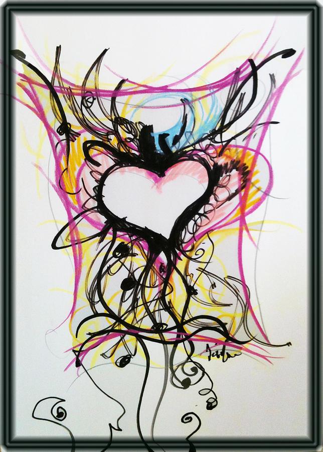 Crazy Heart Pastel