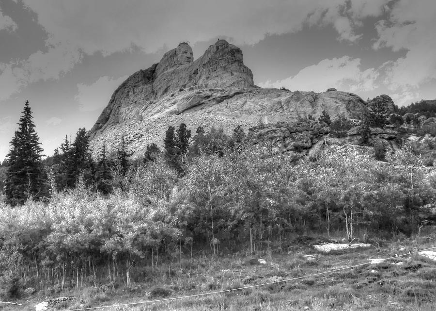 Crazy Horse Monument Photograph  - Crazy Horse Monument Fine Art Print