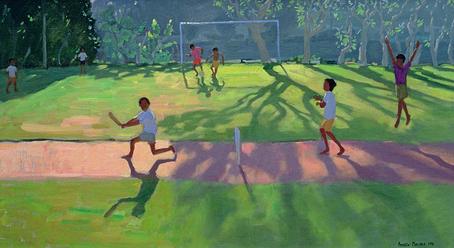 Cricket Sri Lanka Painting  - Cricket Sri Lanka Fine Art Print