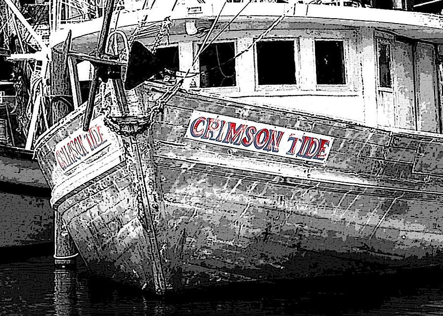 Crimson Tide Painting